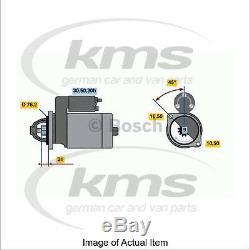 £45 Cashback New Genuine BOSCH Starter Motor 0 986 015 050 Top German Quality