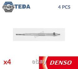 4x DENSO ENGINE GLOW PLUGS DG-187 L FOR MITSUBISHI PAJERO III 3.2L