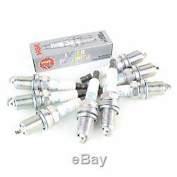 8x NGK Laser Platinum Spark Plugs Kit Genuine Service Part 3199