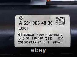 A6519064800 Motor Anlauf / Start MERCEDES Klasse C Lim 220 CDI Bluetec Ausgabe