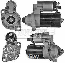 AUDI S3 8L 1.8 Starter Motor 99 to 01 B&B 02A911023L Genuine Quality Replacement