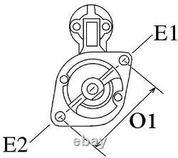 Anlasser Starter Ersatz Fur 432557 433243 D6ra42 D6ra43 D6ra431 D8e111 D8e116