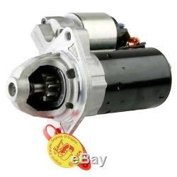 Bosch Starter Motor 12V 1.2KW 9 Teeth BMW 7 6 5 3 1 Series & BMW Z4 X6 X5 X3