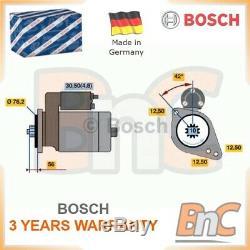 Bosch Starter Set Seat Skoda Vw Audi Oem 0001123012 02z911023f