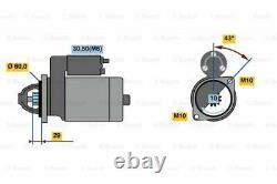 Brand New Genuine Bosch 0001107459 Starter 0 001 107 459