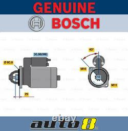 Brand New Genuine Bosch 0001107461 Starter 0 001 107 461