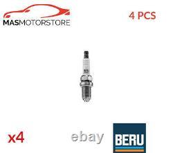 Engine Spark Plug Set Plugs Beru Z237 4pcs A New Oe Replacement