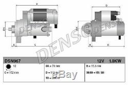 Engine Starter Motor Denso Dsn967 P New Oe Replacement