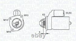 Engine Starter Motor Magneti Marelli 063721377010 P New Oe Replacement
