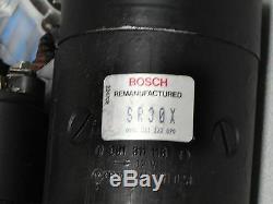 Factory Rebuilt Original Genuine Bosch Porsche 924 Starter Unit For Automatic