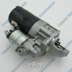 Fiat Ducato Peugeot Boxer Citroen Relay Starter Motor 2.5L Diesel+TD (94-02)