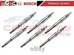For Bmw 1 2 4 4 5 Series N47 Engine Genuine Bosch Diesel Glow Plugs Set Of 6