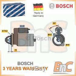 # Genuine Bosch Heavy Duty Starter Mazda 2 Dy 3 Bk 3 Saloon Bk