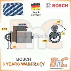 # Genuine Bosch Heavy Duty Starter Set Mini Mini R50, R53 Mini Convertible R52