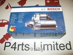 Genuine Bosch Starter Motor 0986013240 Fits Citroen Berlingo Peugeot 205 206
