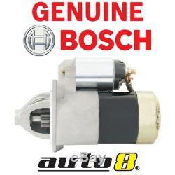 Genuine Bosch Starter Motor Fits Mazda B2600 2.6L Petrol 4G54 Engine 1987 1991