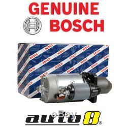 Genuine Bosch Starter Motor fits Case Agricultural 580L 3.9L Diesel 4B 1997 ON