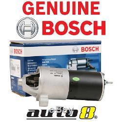 Genuine Bosch Starter Motor fits Ford Falcon Longreach XH XR8 V8 5.0L 1997-1999
