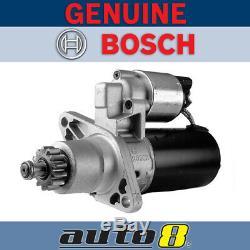 Genuine Bosch Starter Motor fits Holden Apollo 2.0L 2.2L Petrol 1989 1997