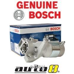 Genuine Bosch Starter Motor fits Holden Rodeo TF 3.2L Petrol 6VD1 01/98 02/03