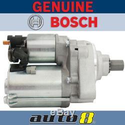Genuine Bosch Starter Motor fits Honda Accord CK 2.3L Petrol F23Z2 1999 2003
