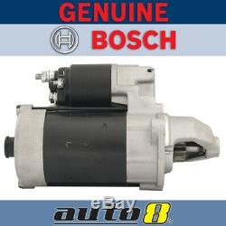 Genuine Bosch Starter Motor fits Iveco Daily 50C15 50C17 50C18 50C21 55S17W