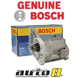 Genuine Bosch Starter Motor fits Mazda Bravo B2500 UF 2.5L Diesel WL 1996-1998