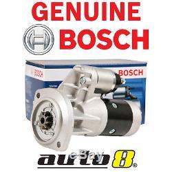 Genuine Bosch Starter Motor fits Nissan Navara D22 Turbo Diesel 2.7L 3.0L 3.2L