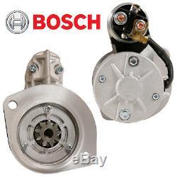 Genuine Bosch Starter Motor fits Nissan Navara, Terrano Diesel 2.5L 2.7L & 3.2L
