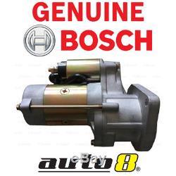 Genuine Bosch Starter Motor fits Nissan Patrol GQ GU 4.2L Diesel TD42 TD42T