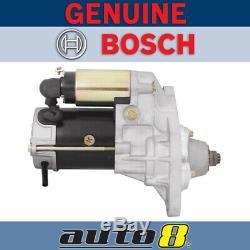 Genuine Bosch Starter Motor fits Nissan UD Truck MK175 4.6L Diesel 4HG1 2003-07