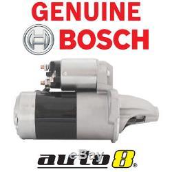 Genuine Bosch Starter Motor fits Subaru Impreza 2.0L Petrol EJ20 1996 2007