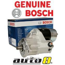 Genuine Bosch Starter Motor fits Toyota Dyna HU30R 3.6L Diesel H 08/77 07/81