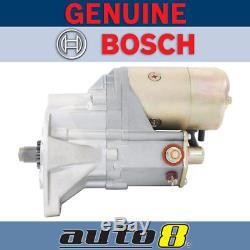 Genuine Bosch Starter Motor fits Toyota Landcruiser BJ74 3.4L 13BT Turbo Diesel