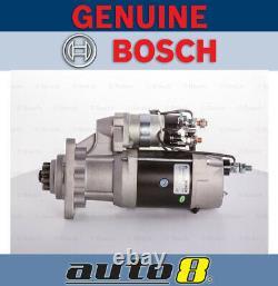 Genuine Bosch Starter Motor for Atlas Loaders Trucks Case Tractors Excavators