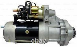 Genuine Bosch Starter Motor for Case IH Tractors with Cummins CAT Engines