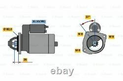 Genuine Bosch Starter Motor for Fiat Ducato GEN2 2.3L Diesel F1AE 01/05 12/07