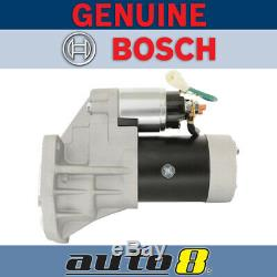 Genuine Bosch Starter Motor for Holden Monterey U8 3.0L Diesel 4JX1-T 2001-2004