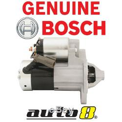 Genuine Bosch Starter Motor suits Nissan Terrano R20 2.4L KA24E 1997 2000