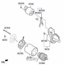 Genuine Hyundai Tucson Starter Motor 361002A950