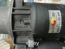 Genuine MERCEDES-BENZ 0041517101/80 Starter Motor Bosch W124 W310 W463 W140