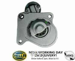 HELLA STARTER MOTOR (NEW) CS1341 12 kW 8EA011610-271 (Next Working Day to UK)