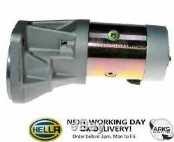 HELLA STARTER MOTOR (NEW) JS660 2 kW 12 V 8EA011610-871 (Next Working Day to UK)