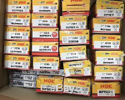 Mass Job Lot 500 Spark N Glow Plugs NGK BOSCH LUCAS Platinum Plug Car Service