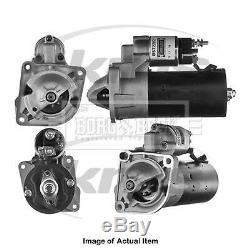 New Genuine BORG & BECK Starter Motor BST2282 Top Quality 2yrs No Quibble Warran