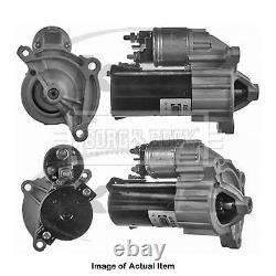 New Genuine BORG & BECK Starter Motor BST2297 Top Quality 2yrs No Quibble Warran
