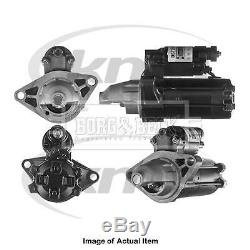 New Genuine BORG & BECK Starter Motor BST2598 Top Quality 2yrs No Quibble Warran