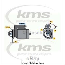 New Genuine BOSCH Starter Motor 0 001 108 111 Top German Quality