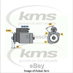 New Genuine BOSCH Starter Motor 0 001 125 035 Top German Quality