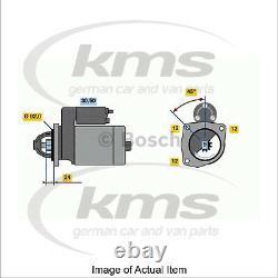 New Genuine BOSCH Starter Motor 0 001 219 112 Top German Quality